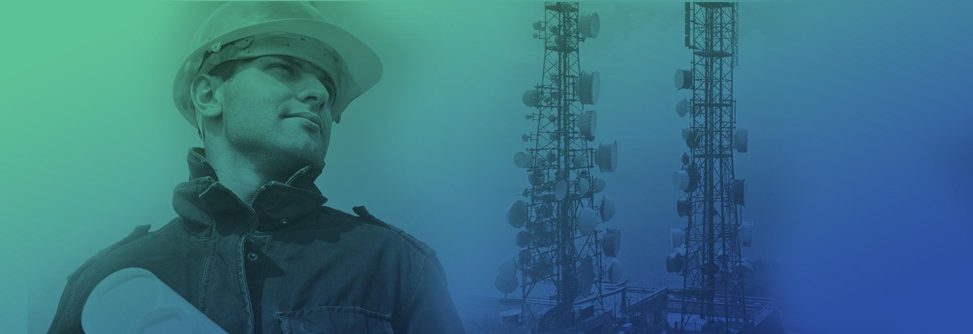 Soluções completas em tecnologia para Sistema de Telecomunicações e Segurança